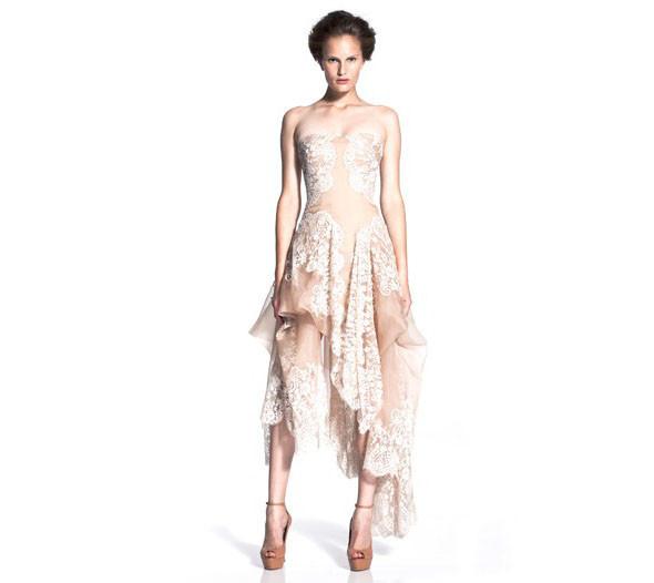 Новая круизная коллекция Alexander McQueen. Изображение № 4.