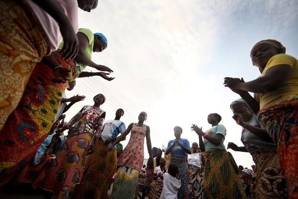 Изображение 21. Рыночные девушки из Ганы.. Изображение № 21.