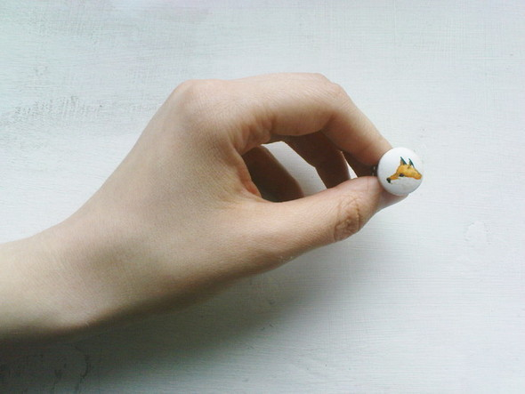My white room.forest animals rings. Изображение № 21.