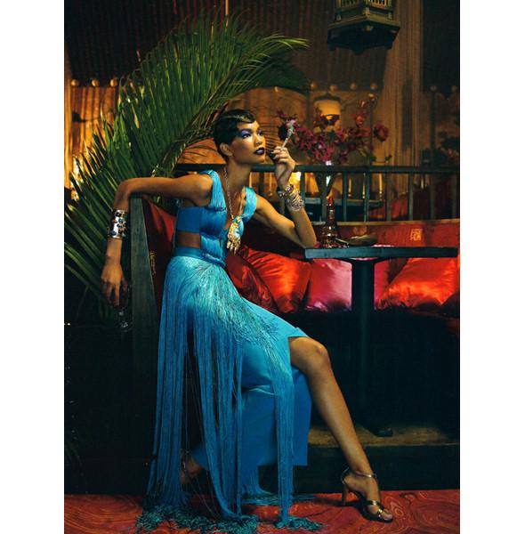 Изображение 10. The Blackallure: съемка с темнокожими моделями в итальянском Vogue.. Изображение № 10.