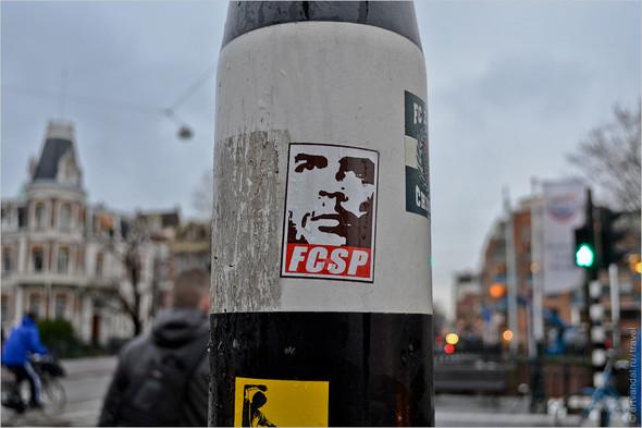 Стрит-арт и граффити Амстердама, Нидерланды. Изображение № 10.