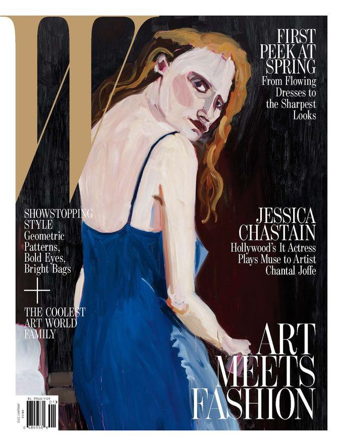 L'Officiel, Revs, W и другие журналы показали новые обложки. Изображение № 7.