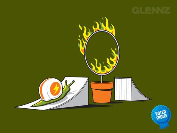 Веселые картинки Glenna Jonesa. Изображение № 38.