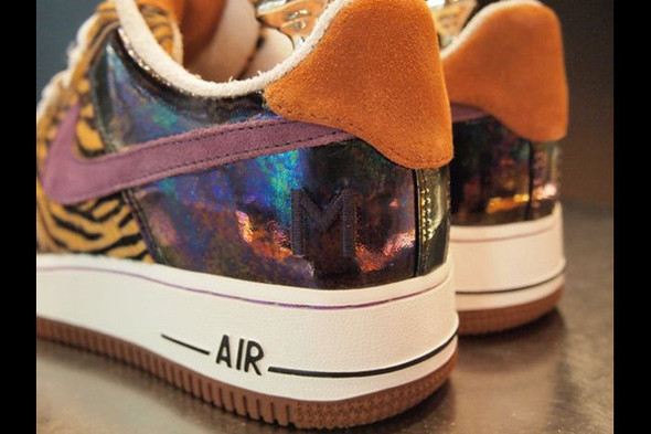 NIKE AIR FORCE 1 BESPOKE (Harajuku Tiger). Изображение № 2.