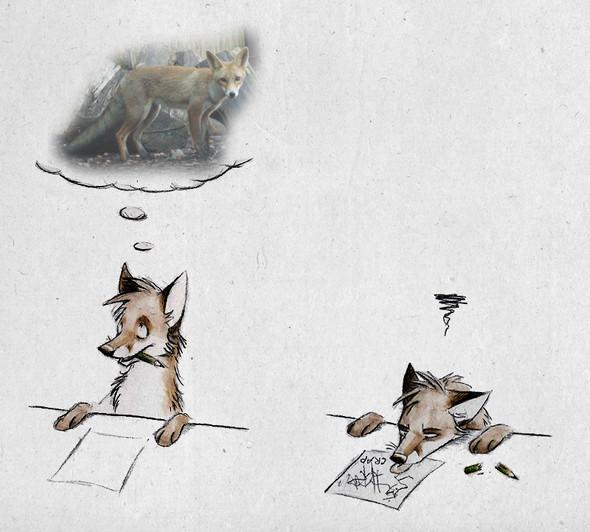 Забавные иллюстрации из жизни лисиц от Skia. Изображение № 2.