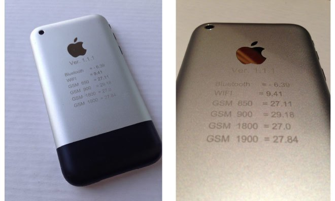 Прототип iPhone продали за 1500 долларов. Изображение № 1.