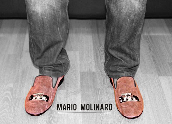 Mario Molinaro - обувь с вышивкой. Изображение № 9.