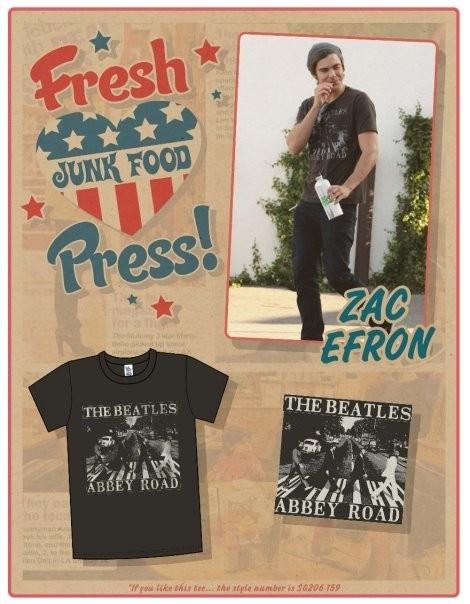 Звездные футболки Junk Food. Изображение № 1.