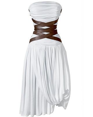 Деним, корсеты, морские принты ипляжная одежда SS2009. Изображение № 10.
