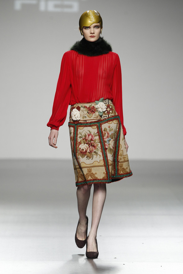 Madrid Fashion Week A/W 2012: David del Rio. Изображение № 18.