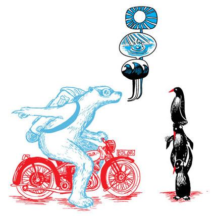 Крис Торнли люди, животные имотоциклы. Изображение № 13.