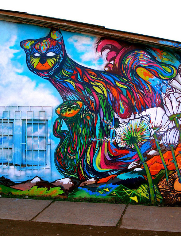 Большая коллекция уличного искусства. Изображение № 9.