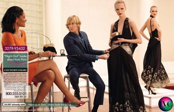 Съёмка: Дарья Строкоус, Карли Клосс, Наташа Поли и другие для итальянского Vogue. Изображение № 16.