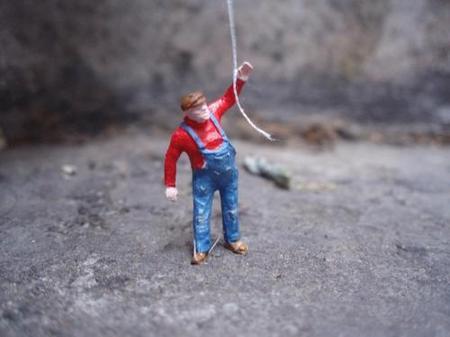 Большая жизнь маленьких людей от Slinkachu. Изображение № 8.