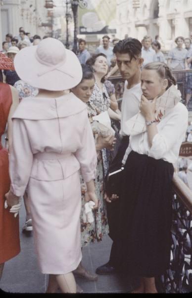 1959 г. Christian Dior в СССР. Изображение № 3.