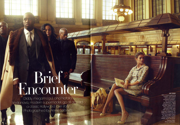 Vogue US февраль. Изображение № 1.