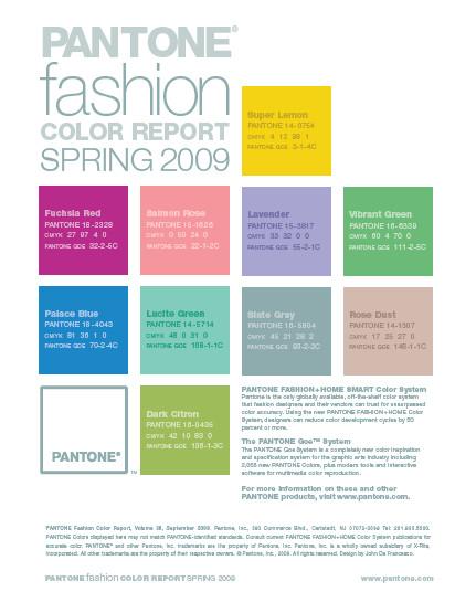 Компания Pantone определила тренды цветов SS-09. Изображение № 13.
