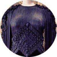 Кутюр в деталях: Маски, бисер и кожа в коллекции Givenchy. Изображение № 18.