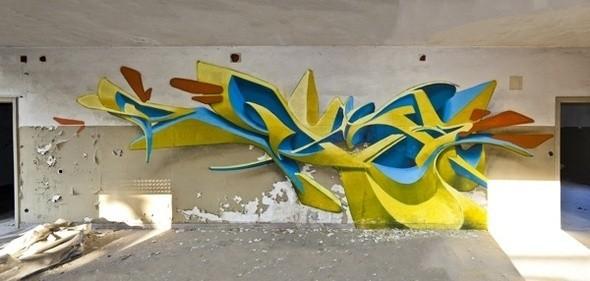 Изображение 6. PEETA: 3D граффити.. Изображение № 6.