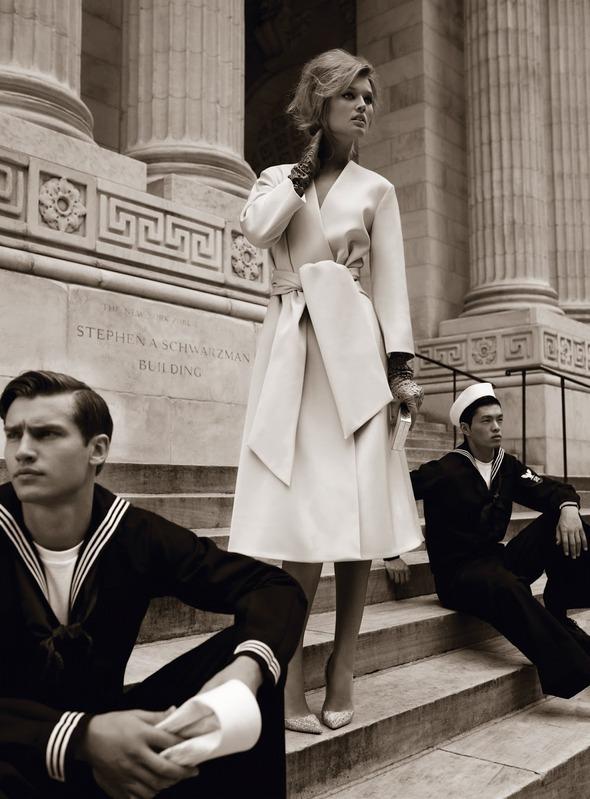 Съемки: Numero, Vogue, W и другие. Изображение №47.
