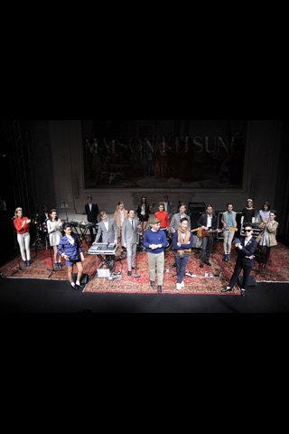 Maison Kitsuné устроили презентацию с музыкантами на Pitti Uomo. Изображение № 14.