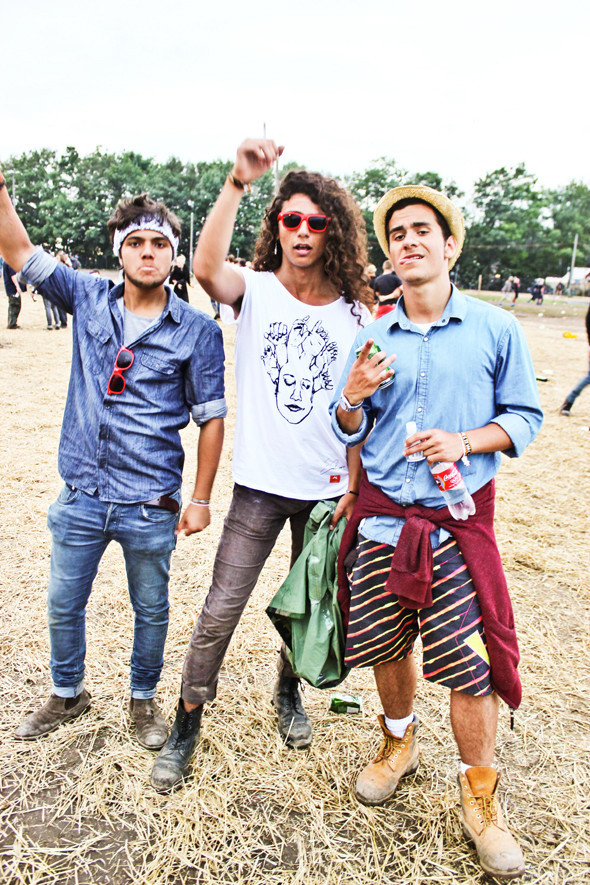 Индейские перья, фуражки и перстни: Люди на фестивале Roskilde. Изображение № 28.
