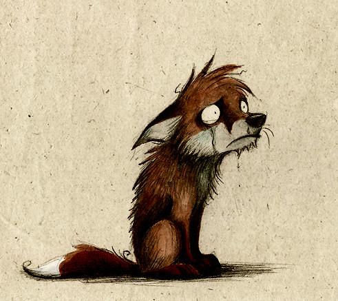 Забавные иллюстрации из жизни лисиц от Skia. Изображение № 19.