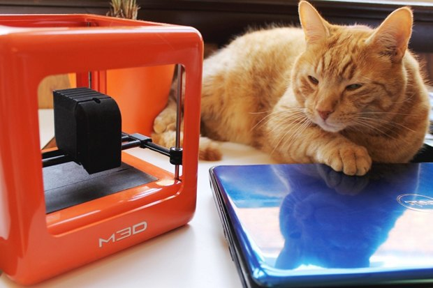 Микро-3D-принтер собрал на Kickstarter $50 000 за 11 минут. Изображение № 1.