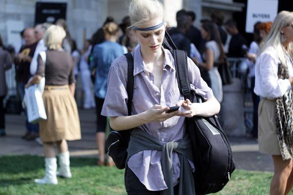 Milan Fashion Week: Модели после показов. Изображение № 13.