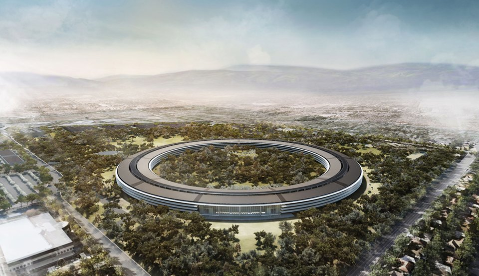 Как могли бы выглядеть города Apple, Google и Facebook. Изображение № 2.