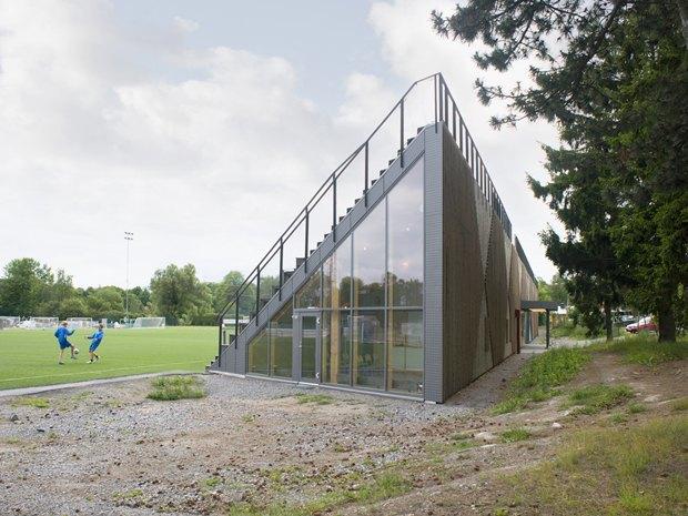 Стадион Lidingövallen авторства DinellJohansson) . Изображение № 22.