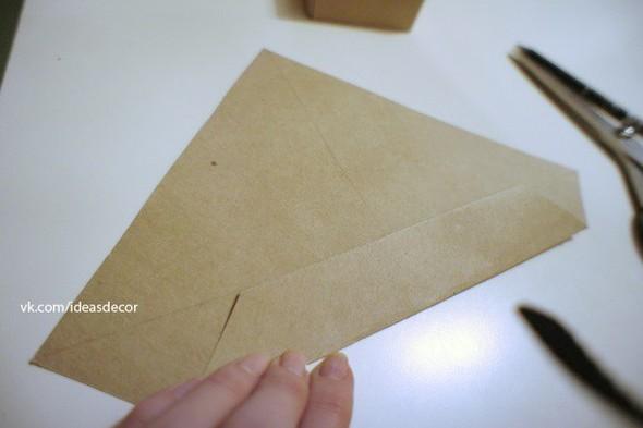 Простая подарочная коробочка, без использования клея. Изображение № 3.