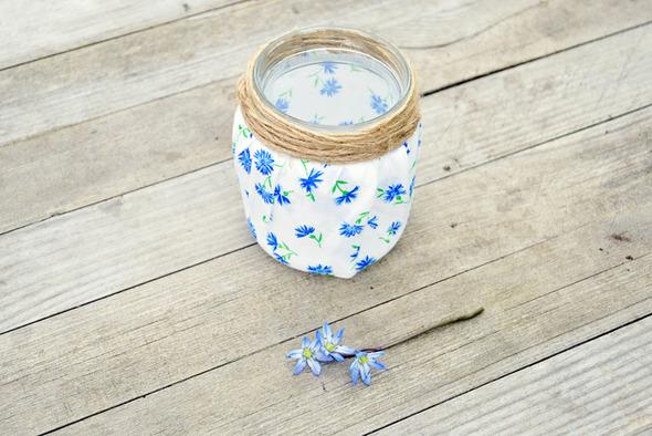 Симпатичные баночки-вазочки-подсвечники.. Изображение № 5.