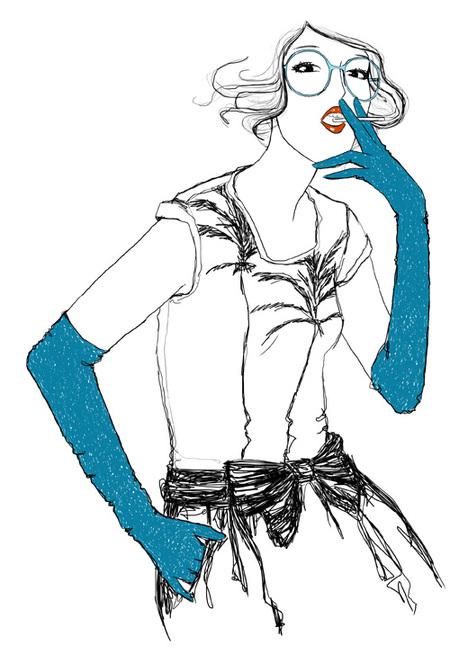 Рисованная мода. Изображение № 9.
