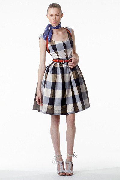 Лукбук: Vivienne Westwood Anglomania SS 2012. Изображение № 16.