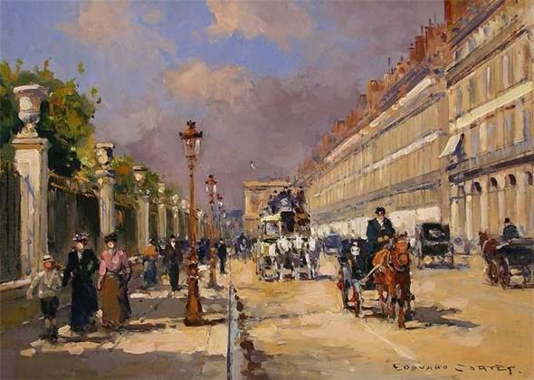 Эдуард Леон Кортес. Перенесёмся в Париж. Изображение № 17.