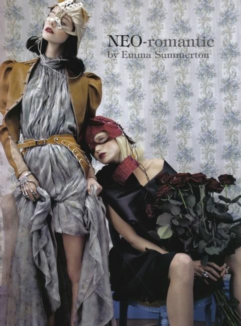 Neo-Romantic byEmma Summerton, Vogue Italia, june 2009. Изображение № 1.
