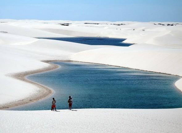 Белые пески Lencois Maranhenses. Изображение № 1.
