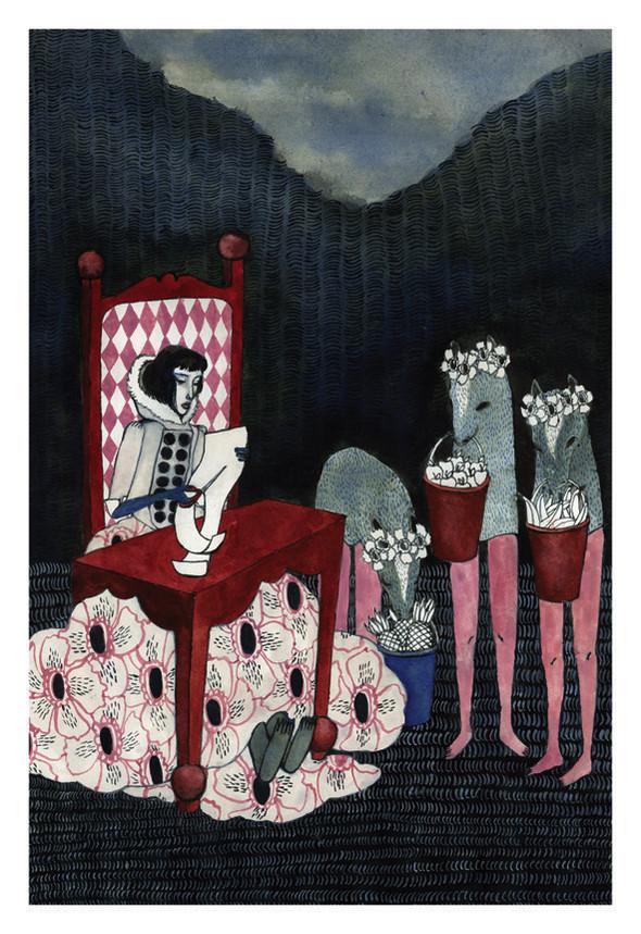 Иллюстрации Riikka Sormunen. Изображение № 19.