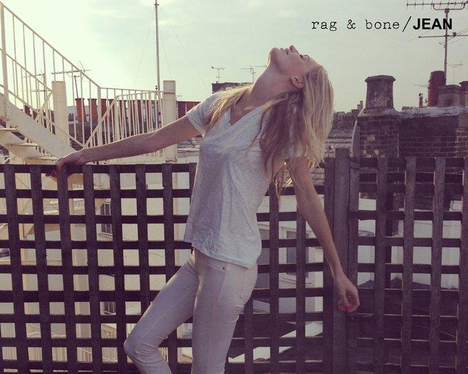 Камила Роу сняла Поппи Делевинь для Rag & Bone. Изображение № 26.