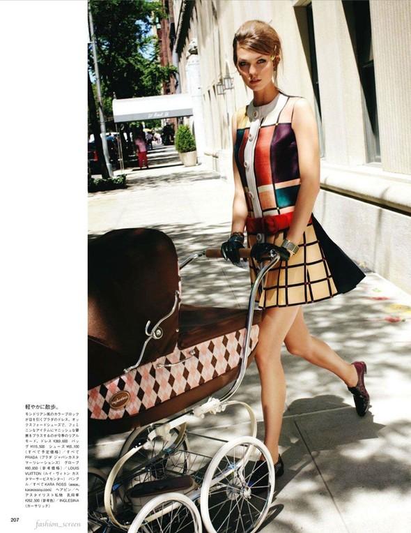 Съёмка: Карли Клосс для японского Vogue. Изображение № 4.