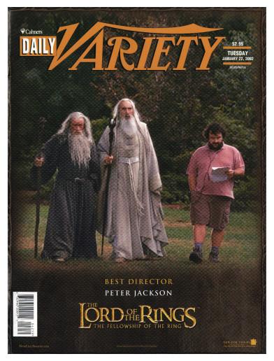 В России начнут издавать американский журнал о кино Variety. Изображение № 1.