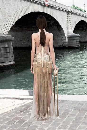 Изображение 9. Показана новая кутюрная коллекция Givenchy.. Изображение № 20.