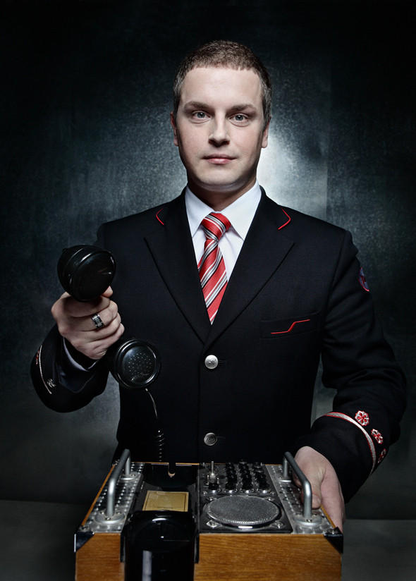 г-н Яковлев - начальник пассажирского поезда Сапсан. Изображение № 2.