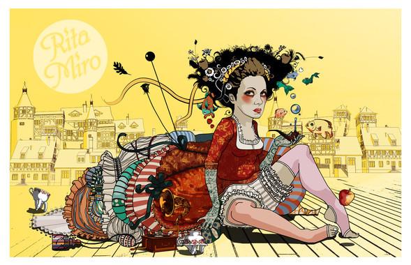 Иллюстрации Риты Миро. Изображение № 2.