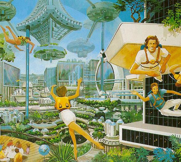 Космический туризм. Стиль. Изображение № 6.