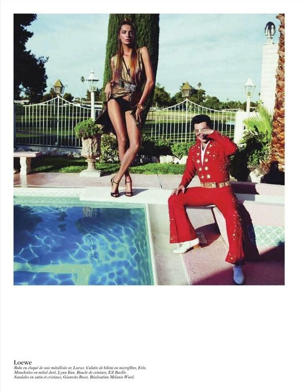 Съёмка: Дарья Вербова для французского Vogue. Изображение № 47.