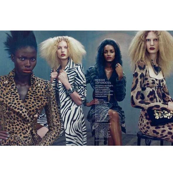 5 новых съемок: Interview, Marie Claire и Vogue. Изображение № 35.