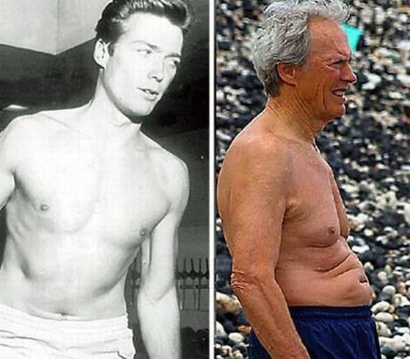 Знаменитые люди: тогда и сейчас. Изображение № 17.