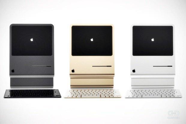 Концепт: современный iMac в стиле Macintosh 128K 1984 года. Изображение № 9.